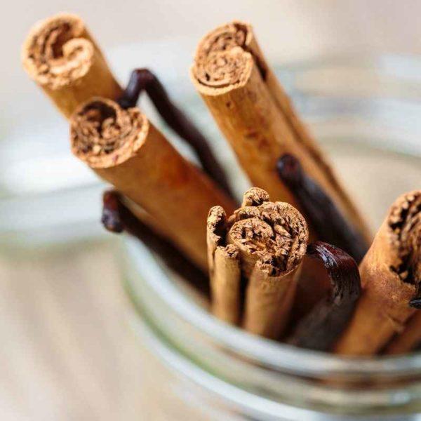 Cinnamon & vanilla I website