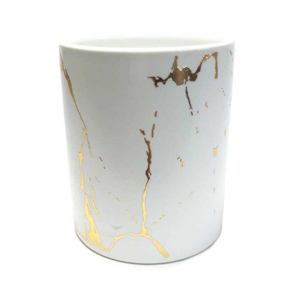 ceramic-marble-white-gold-veins-jar
