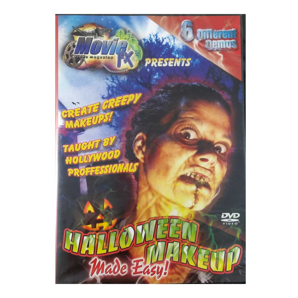 movie fx halloween makeup made easy dvd undefined